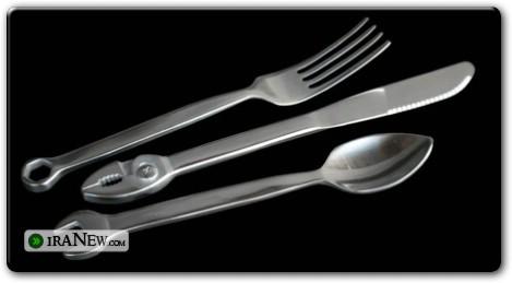 قاشق و چنگالهای عجیب