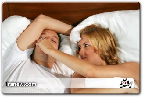 مشکل تنفس در هنگام خواب